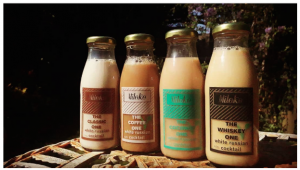 the miloko bottled range of ready to drink white russian cocktails